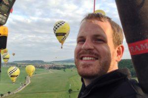 Bastian Schwarz, Nationalmannschaft Heißluftballon