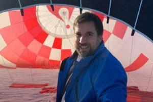 David Strasmann, Nationalmannschaft Heißluftballon
